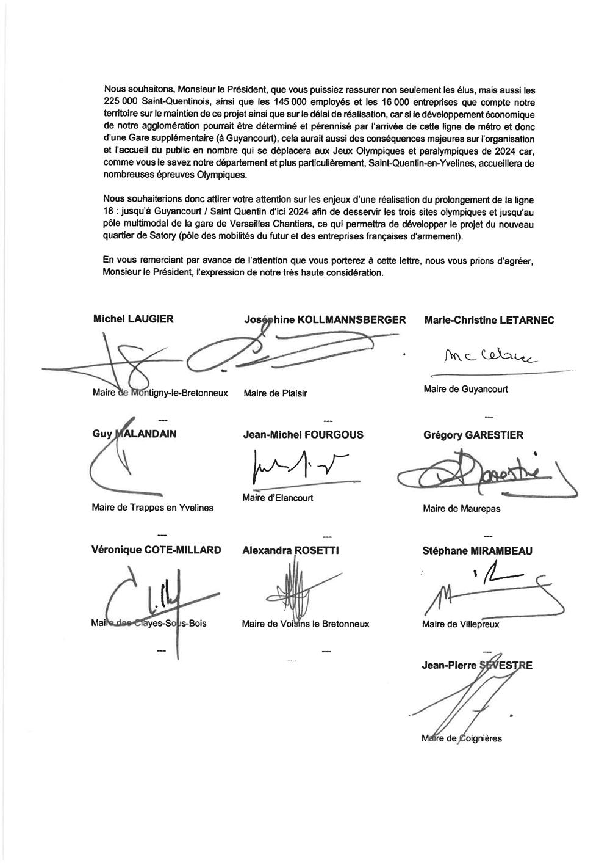 Voisins Le Bretonneux Actualites Ligne 18