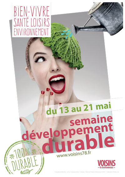 developpement durable affiche